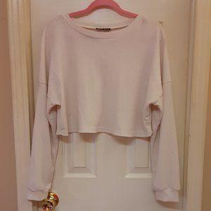 Shein Cropped Lightweight Sweater